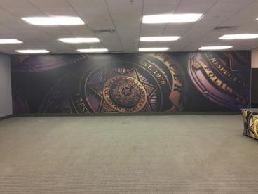 Leander Police Department Wall Mural