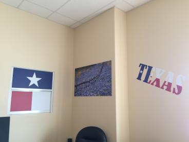 Our Texas Room