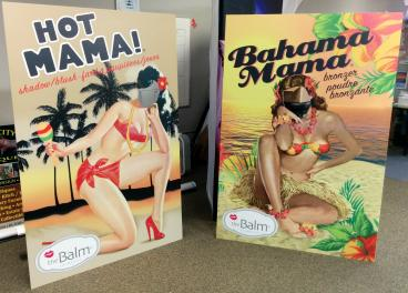 The Balm cutouts