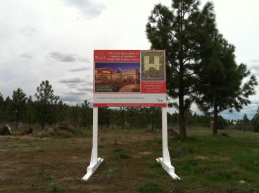 Hospice of Spokane site sign