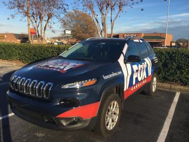 Fox Carolina News SUV, SpeedPro Greenville