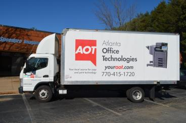 Atlanta Office Technologies Truck