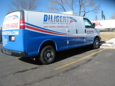 Diligent Delivery: Print and Install   Metro Denver