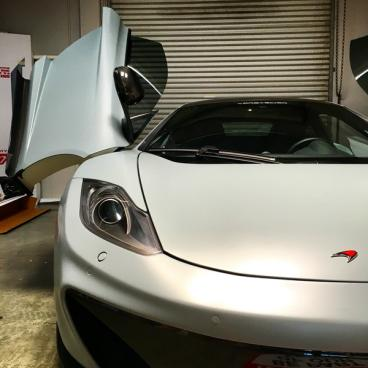 McLaren MP4-12C Front Shot 1 Wing
