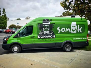 Sanook Donavon Frankenreiter Vehicle
