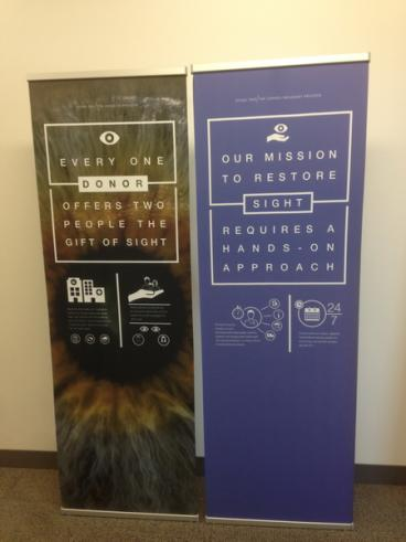 Retractable Banner Stand for Company