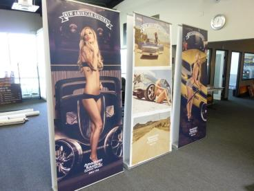 Retractable Banner Stands Orient 920 x3