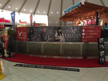 EWO Spokane International Airport Display