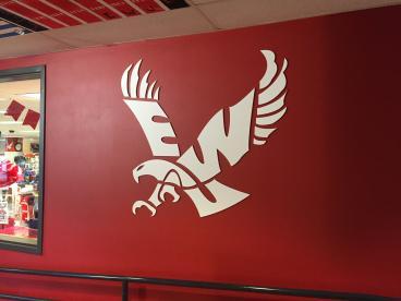 EWU Bookstore Eagle
