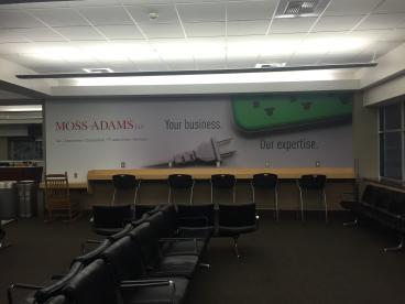 Moss Adams wall mural