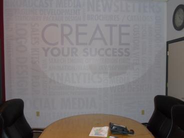 Market Vision wall mural