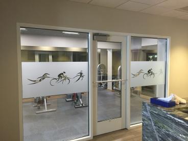 Coeur d'Alene Resort workout center windows