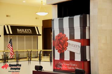 Crabtree Valley Mall Transforms Elevator Cart into Bailey's Box