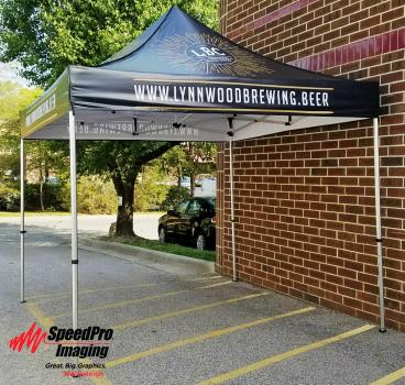 Lynnwood Brewing gets New Tent