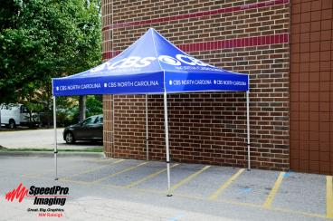 New Tent to Promote CBS NC