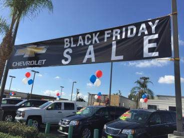 Sage West Covina Chevrolet Black Friday Sale Banner