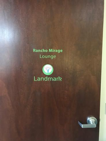 Landmark Health Door Decals