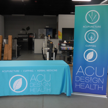 Retractable and Table Throw for ACU Design Health