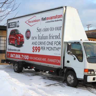Autobarn Billboard Truck Wrap