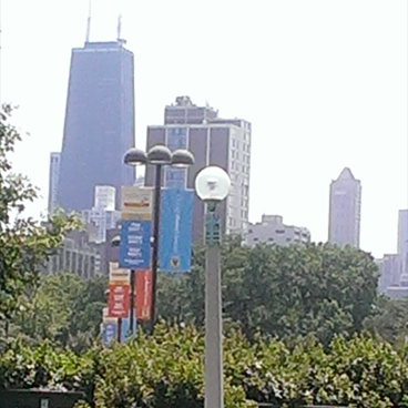Chicago History Museum Banners