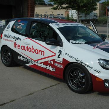 Racing Car Wrap