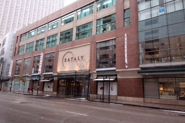 Eataly Chicago - 3D Lettering + Window Graphics