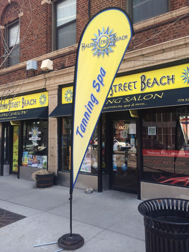 Outdoor Banner + Signage