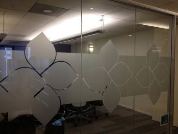 Cut to Shape Frosted Vinyl