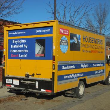 Houseworks Box Truck Wrap