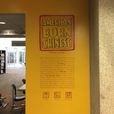 Evanston Library Wall