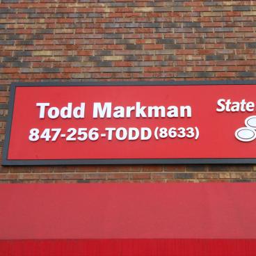 State Farm Todd Markman Sign