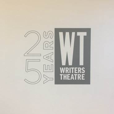 Writer's Theatre 25th Logo