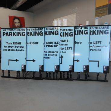 Writer's Theatre Parking