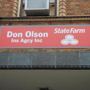 State Farm Don Olson Sign