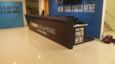 Desk Wrap, NASCAR Hall of Fame, Charlotte, NC