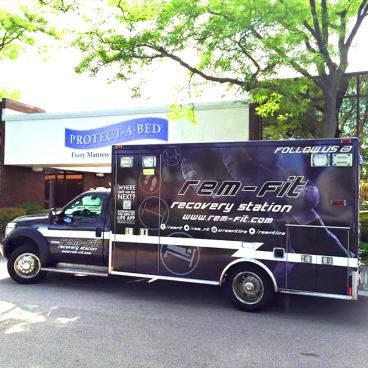 Rem-Fit Ambulance Wrap