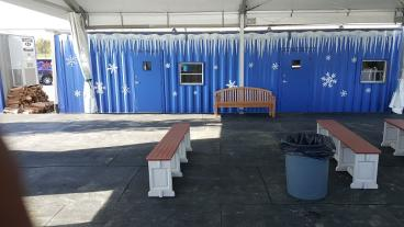 Container wrap for outdoor ice rink #2