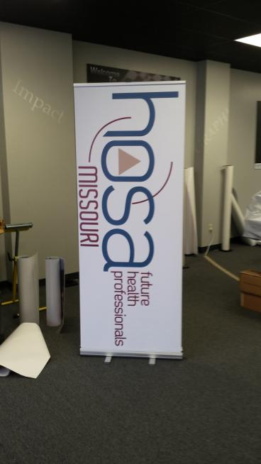 Retractabe banner for any event