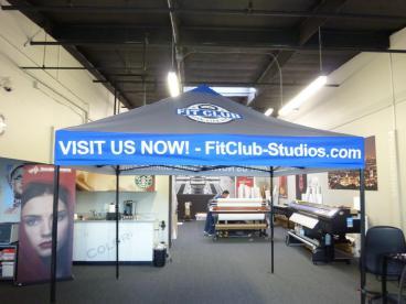 Fit Club Tent