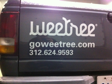 Wee Tree: Cut Truck Decals