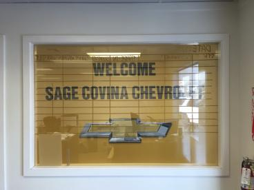 Sage West Covina Chevrolet Window Perf