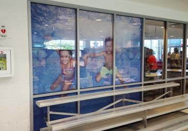 YMCA - Perforated Window Decals