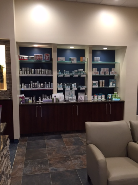 DERMALOGICA and CLARITY products used in our facial services and available to purchase!