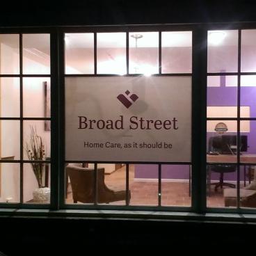 Broad Street Window
