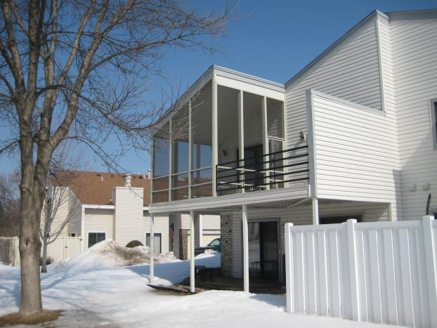 Screen porch repairs in Eden Prairie