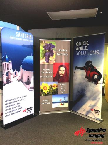 New Banner Stands for Speedpro RDU