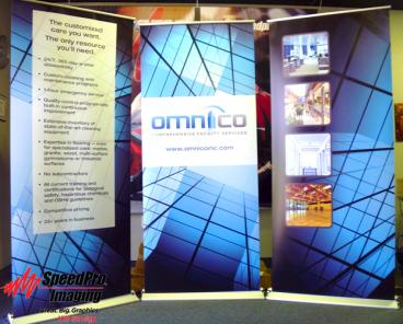 Amnico's Custom Pop Up Stands