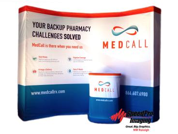 Medcall gets New Trade Show Display