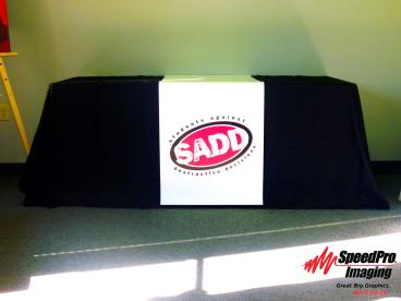 SADD Uses a Table Throw to Grab Attention for their Cause