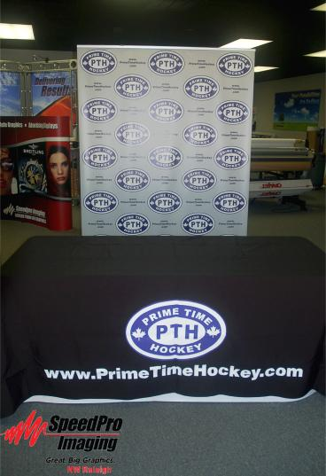 Prime Time Hockey gets a Simple Trade Show Display
